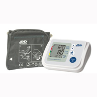 AND UA-767F Blood Pressure Monitor with Wide Range Cuff