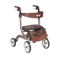 Drive Medical Nitro DLX Euro Style Walker Rollator