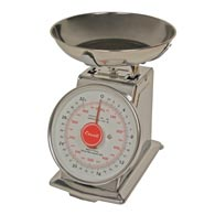 Escali-DS21B Mercado Dial Scale with Bowl-2 Lb/1 Kg