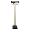 Healthometer 400KL 490 lb/210 kg Capacity Beam Scale w/ Counterweights