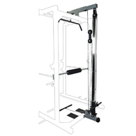 Valor Fitness BD-33L Lat Pull Attachment for BD-33 Power Cage
